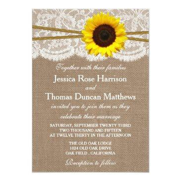 Small The Rustic Sunflower Wedding Collection Front View