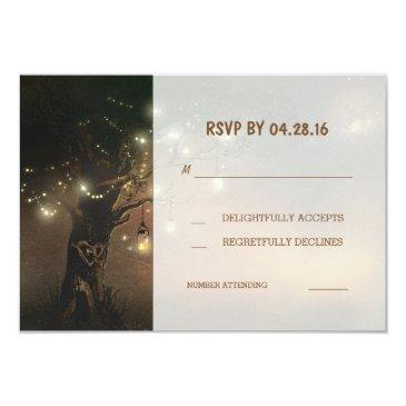 tree string lights mason jars wedding rsvp