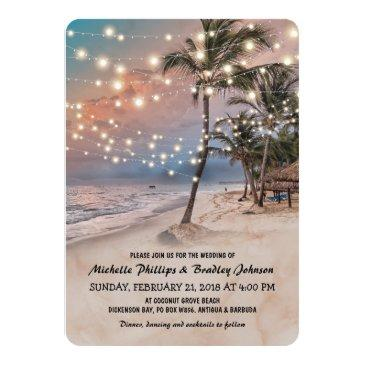 tropical vintage beach lights