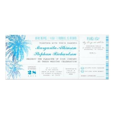 turquoise destination wedding tickets