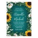 turquoise sunflower rustic wedding