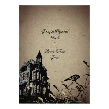 Small Vintage Gothic House Wedding Front View
