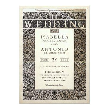 wedding invitationss | champagne ivy collection