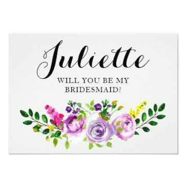 will you be my bridesmaid? customizable