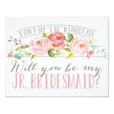 will you be my junior bridesmaid | bridesmaid