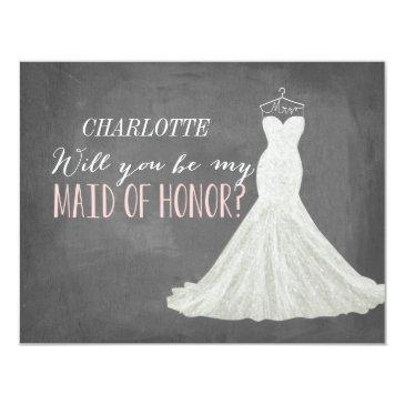 will you be my maid of honor   bridesmaid