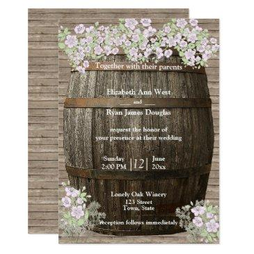 winery, rustic wood, country, wedding invitations