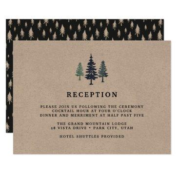 winter forest reception